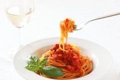 Spaghetti pomodoro Royalty Free Stock Photography