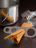 Spaghetti portion Royalty Free Stock Photos