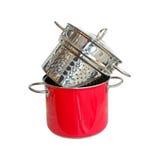 Spaghetti pot Royalty Free Stock Photo