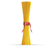 Spaghetti Red Ribbon Royalty Free Stock Photo