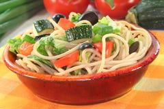 Spaghetti salad Royalty Free Stock Photo