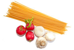 Spaghetti Series 04 Royalty Free Stock Photos