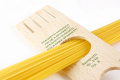 Spaghetti servings Stock Photos
