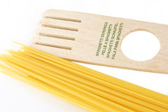Spaghetti servings Stock Image