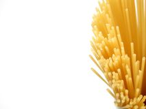 Spaghetti on the side royalty free stock photography