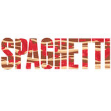 Spaghetti sign Royalty Free Stock Photography