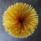 Spaghetti sparati da sopra Fotografia Stock Libera da Diritti