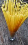 Spaghetti stack Royalty Free Stock Image