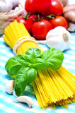 Spaghetti still life Royalty Free Stock Image