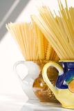 Spaghetti still life Royalty Free Stock Photos