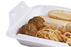 Spaghetti Take Out Stock Image