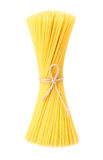 Spaghetti tied up by a rope Stock Photography