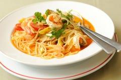 Spaghetti Tom Kung Yum Obraz Royalty Free
