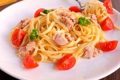 Free Spaghetti Tuna Stock Photography - 30448492