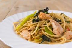 Spaghetti ubriachi Fotografie Stock