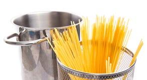 Spaghetti in un vaso II Fotografia Stock