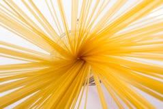 Spaghetti in un vetro Immagini Stock