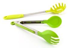 Spaghetti utensils Royalty Free Stock Photos
