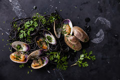 Spaghetti Vongole Royalty Free Stock Image