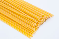 Spaghetti in white background Royalty Free Stock Image