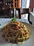 Spaghetti wyśmienicie Zdjęcie Royalty Free