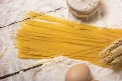 Spaghettideegwaren royalty-vrije stock foto