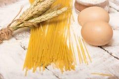 Spaghettideegwaren royalty-vrije stock afbeeldingen