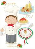 Spaghettihuis Royalty-vrije Stock Foto's