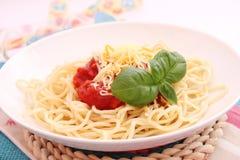 Spaghettis Royalty Free Stock Photography
