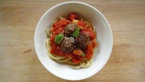 Spaghettis Lizenzfreie Stockbilder