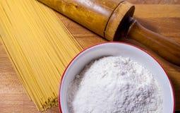 Spaghettis Stockfotografie