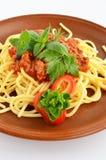 Spaghettis Bewohner von Bolognese 5 Lizenzfreies Stockfoto