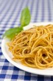 Spaghettis Bolognaise Lizenzfreies Stockfoto