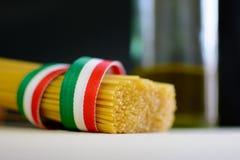 Spaghettis Italiani Stockbilder