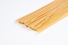 Spaghettis lokalisiert Lizenzfreie Stockbilder