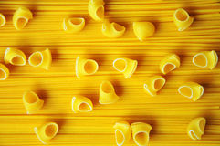 Spaghettis und Makkaroni Lizenzfreie Stockfotos