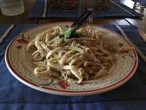Spaghettisaus Royalty-vrije Stock Fotografie