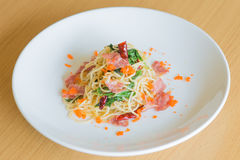 Spaghettispeck Lizenzfreies Stockbild