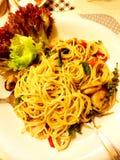 Spaghetty zdjęcie royalty free