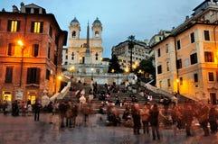 spagna Di piazza Ρώμη Στοκ Φωτογραφία