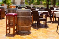 Spagnolo Tapas Bar fotografie stock libere da diritti