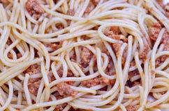 Spagueti bolognesa Obrazy Royalty Free