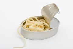 Spaguetti inscatolato Fotografia Stock Libera da Diritti