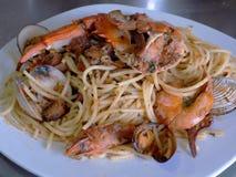 Spaguettizeevruchten, Italiaanse Heerlijke Neef!! royalty-vrije stock foto's