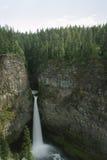 Spahat nedgångar i brunnar Gray Provincial Park Arkivfoton