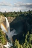 Spahat nedgångar i brunnar Gray Provincial Park Arkivbild