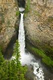 Spahats fällt Wasserfall in den Vertiefungen grauer Park, Kanada stockbild