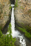 Spahats Falls waterfall in Wells Gray Park, Canada Stock Image