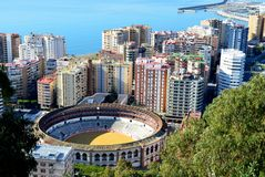 Spain, Andalusia, Malaga Royalty Free Stock Photography