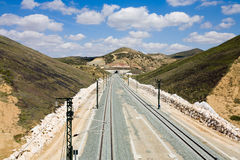 Spain,Andalusia,Railway track Stock Images